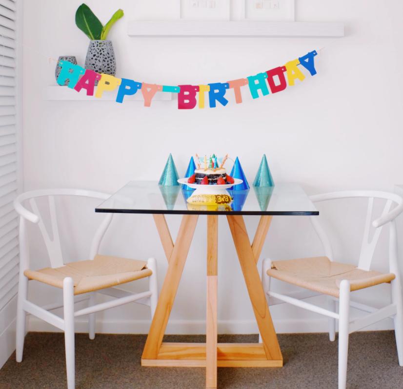 ¿Cómo preparar un cumpleaños en casa diferente?