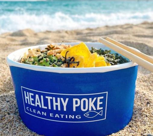 Comer en la Malagueta - Healthy Poke